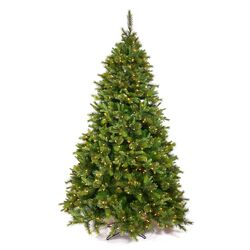 Cashmere 3' Green Pine Artificial Christmas Tree with 100 Dura-Lit Clear Lights with Stand
