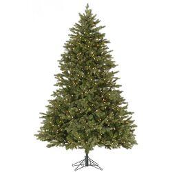 Balsam 6.5' Green Fir Artificial Christmas Tree with 600 Dura-Lit Clear Lights