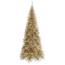 Champagne 4.5' Fir Artificial Christmas Tree with Unlit