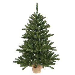 Anoka 3' Pine with Burlap Base Artificial Christmas Tree
