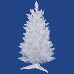 Sparkle 2.5' White Spruce Artificial Christmas Tree