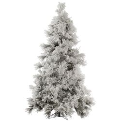 Flocked Pocono 9' White Pine Artificial Christmas Tree