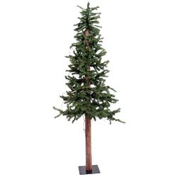 Alpine 4' Green Pine Artificial Christmas Tree with Unlit
