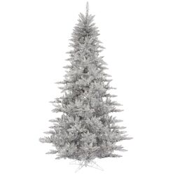 4.5' Silver Fir Artificial Christmas Tree with Unlit