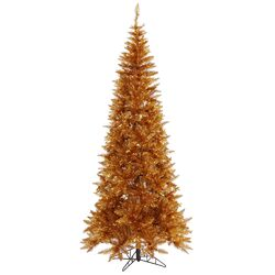 7.5' Copper Fir Artificial Christmas Tree with Unlit