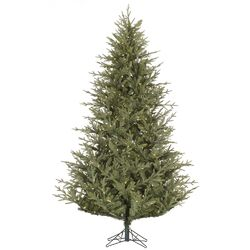 Sutter Creek 6.5' Green Fir Artificial Christmas Tree with 450 LED White Lights