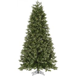 Slim Del Mar Frasier 4.5' Green Fir Artificial Christmas Tree with 200 LED White Lights ...