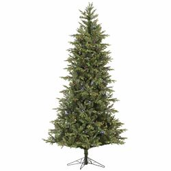 Slim Elk Frasier 7.5' Green Fir Artificial Christmas Tree with 500 LED Multi-Colored Lights