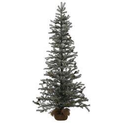 Frosted Pistol 5' Pine Tree Artificial Christmas Tree