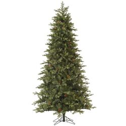 Slim Rocky Mountain 7.5' Green Fir Artificial Christmas Tree with Unlit