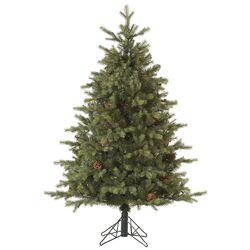 Rocky Mountain 4.5' Green Fir Artificial Christmas Tree with Unlit