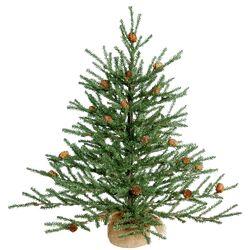 Carmel 2' Pine Tree Artificial Christmas Tree