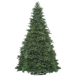 Grand Teton 18' Green Artificial Christmas Tree with 1034 LED White Lights