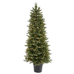 Ottawa 6' Green Artificial Christmas Tree with 300 Dura-Lit Clear Lights