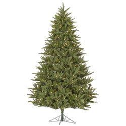 Berkshire 6.5' Green Fir Artificial Christmas Tree with 600 Dura-Lit Clear Lights