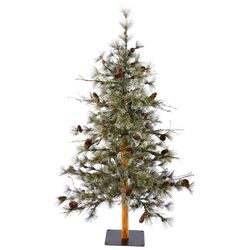 Dakota Alpine 3' Green Artificial Christmas Tree with Stand