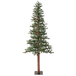 Frosted Alpine Berry 5' Green Artificial Christmas Tree