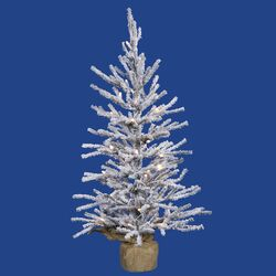 Angel 4' Pine Artificial Christmas Tree with 70 Clear Lights