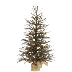 Vienna Twig 4' Artificial Christmas Tree with 70 Clear Light