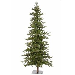 Shawnee 8' Green Fir Artificial Christmas Tree with 400 LED White Lights with Stand