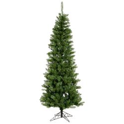 Salem Pencil 7.5' Green Pine Artificial Christmas Tree