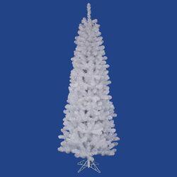 Salem Pencil 7.5' White Pine Artificial Christmas Tree