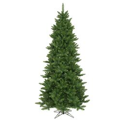 Camdon Fir 12' Green Artificial Christmas Tree with Unlit with Stand