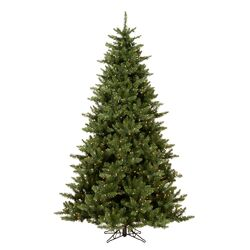 Camdon Fir 5.5' Green Artificial Christmas Tree with 450 Clear Lights with Stand