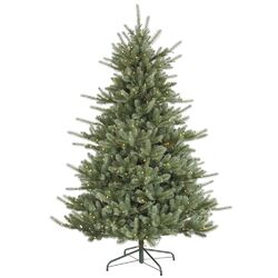 Colorado 7.5' Blue Spruce Artificial Christmas Tree with 700 Dura-Lit Clear Lights with Stand