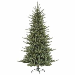 Colorado 7.5' Blue Spruce Artificial Christmas Tree with 680 LED White Lights with Stand