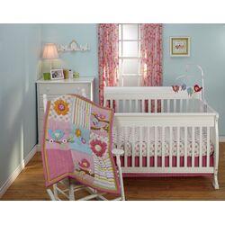 Sweet Lil Birds Crib Bedding Collection