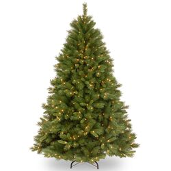 Winchester Pine 7.5' Artificial Christmas Tree with 500 Clear Lights