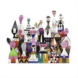 Vitra-Vitra Design Museum - Wooden Dolls no. 11 by Alexander Girard