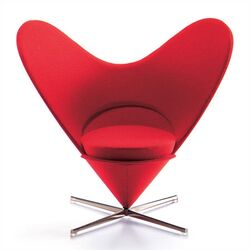 Miniatures Heart Shaped Cone Chair