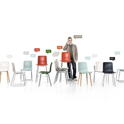 HAL Seating Collection Side Chair-Hal Dining Table