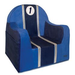 Playful Embroidery 1 Race Kids Club Chair