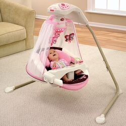 Butterfly Cradle Swing