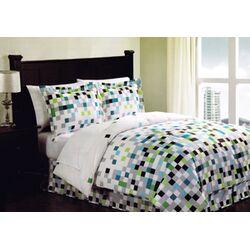 Pixel Comforter Set
