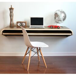 Botanist Floating Wall Desk
