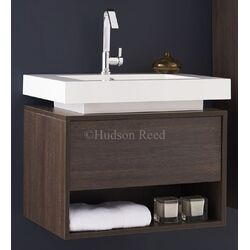 Hudson Reed Oak Recess Basin and Cabinet