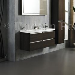 Hudson Reed Ambit Basin and Cabinet in Oak