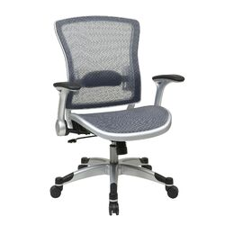 Mesh Executive Office Chair with Flip Arms