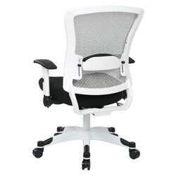 Pulsar Mesh Managers Chair with Height Adjustable Flip Arms