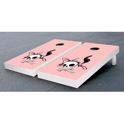 Pirate Girl Cornhole Bean Bag Toss Game