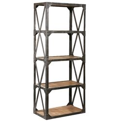 Bleeker Recycled Narrow Bookcase