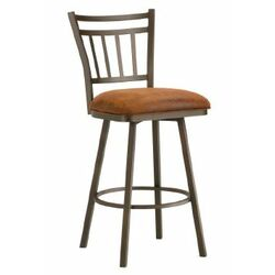 Red Barrel Studio 24 Quot Swivel Bar Stool With Cushion