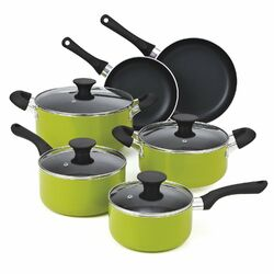Non Stick 10 Piece Cookware Set I by Cook N Home