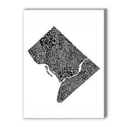 DC Textual Graphic Art