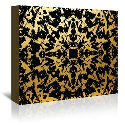 Third Eye Graphic Art on Gallery Wrapped Canvas in Black