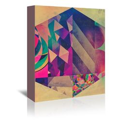 Spires 4 Hyx Graphic Art on Gallery Wrapped Canvas